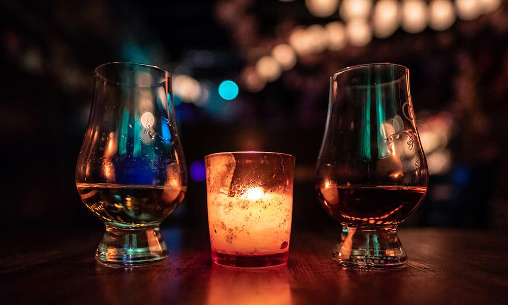 スコッチとバーボン