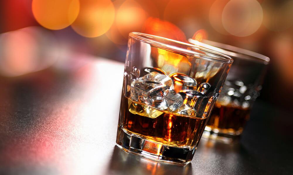 ウイスキーロックグラス